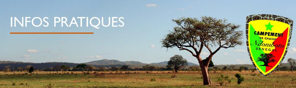 Infos pratiques sur la chasse au Sénégal